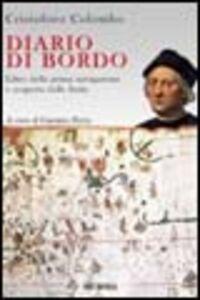 Libro Diario di bordo Cristoforo Colombo