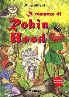 Romanzo di Robin Hood - Mino Milani - copertina