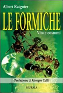 Premioquesti.it Le formiche. Vita e costumi Image