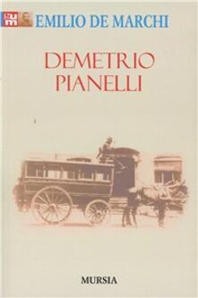 Demetrio Pianelli - Emilio De Marchi - copertina