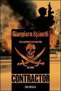 Libro Contractor Gianpiero Spinelli