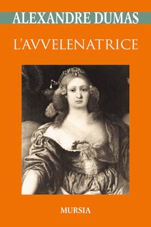 L' avvelenatrice - Alexandre Dumas - copertina