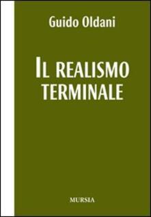 Il realismo terminale - Guido Oldani - copertina