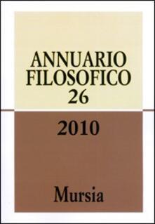 Voluntariadobaleares2014.es Annuario filosofico 2010. Vol. 26 Image