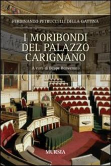 I moribondi del palazzo Carignano - Ferdinando Petruccelli della Gattina - copertina