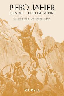 Con me e con gli alpini - Piero Jahier - copertina