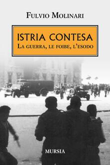 Criticalwinenotav.it Istria contesa. La guerra, le foibe, l'esodo Image