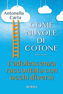 Come nuvole di cotone - Antonella Carta - copertina