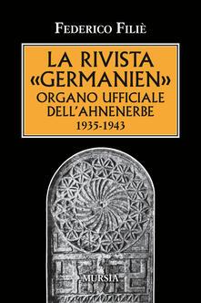 La rivista «Germanien» organo ufficiale dellAhnenerbe 1935-1943.pdf