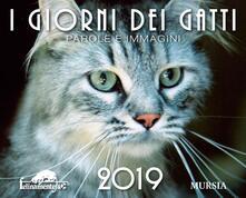 I giorni dei gatti. Calendario 2019 - copertina
