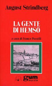Foto Cover di La gente di Hemsö, Libro di August Strindberg, edito da Ugo Mursia Editore