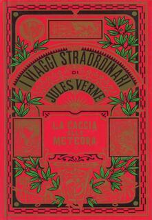 La caccia alla meteora - Jules Verne - copertina