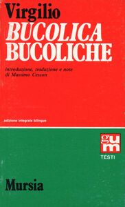 Libro Bucoliche Publio Virgilio Marone