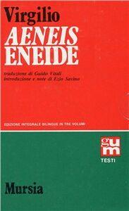 Foto Cover di Eneide vol. 1-3, Libro di Publio Virgilio Marone, edito da Ugo Mursia Editore