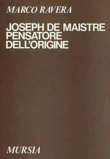 Winniearcher.com Joseph de Maistre pensatore dell'origine Image