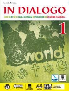 In dialogo. Per la Scuola media. Con e-book. Con espansione online. Vol. 1 - Leonardo Fiandaca - copertina