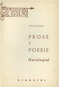 Prose e poesie. Antologia