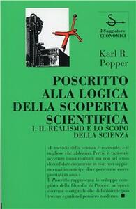Poscritto alla logica della scoperta scientifica. Vol. 1: Il realismo e lo scopo della scienza.