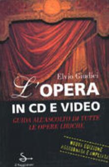 L' opera in CD e video - Elvio Giudici - copertina