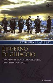 L' inferno di ghiaccio - Katherine Lambert - copertina