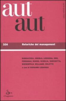 Daddyswing.es Aut aut. Vol. 326: Retoriche del management. Image