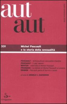 Letterarioprimopiano.it Aut aut. Vol. 331: Michel Foucault e la storia della sessualità. Image