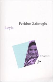 Leyla - Feridun Zaimoglu - copertina