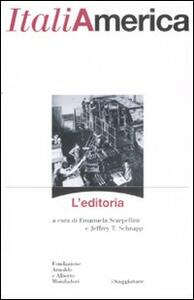 Libro ItaliAmerica. L'editoria