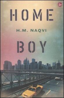Home boy - H. M. Naqvi - copertina