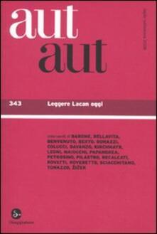 Vitalitart.it Aut aut. Vol. 343: Leggere Lacan oggi. Image