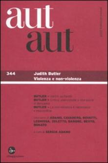 Premioquesti.it Aut aut. Vol. 344: Judith Butler. Image