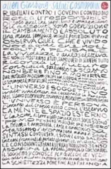 Saluti cosmopoliti. Poesie 1986-1992. Testo inglese a fronte - Allen Ginsberg - copertina
