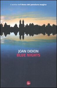 Libro Blue nights Joan Didion