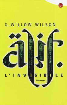 Alif l'invisibile - G. Willow Wilson - copertina