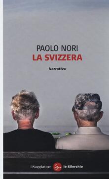 La Svizzera - Paolo Nori - copertina