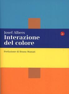 Interazione del colore. Esercizi per imparare a vedere - Josef Albers - copertina