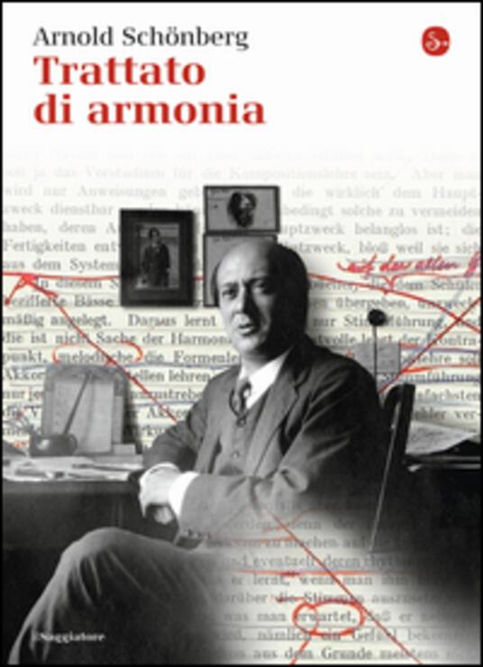 Trattato di armonia - Arnold Schönberg - copertina