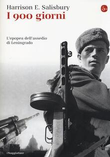 I 900 giorni. L'epopea dell'assedio di Leningrado - Harrison E. Salisbury - copertina