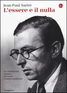 L' essere e il nulla - Jean-Paul Sartre - copertina