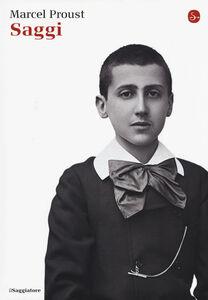 Libro Saggi Marcel Proust