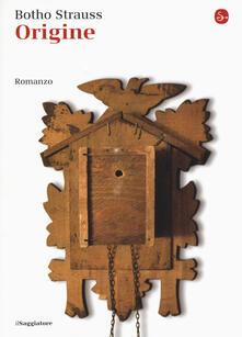 Origine - Botho Strauss - copertina