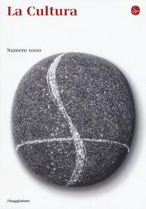 Libro La cultura. Numero 1000