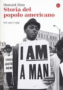 Storia del popolo americano. Dal 1492 ad oggi - Howard Zinn - copertina