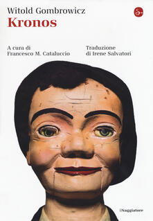 Kronos - Witold Gombrowicz - copertina