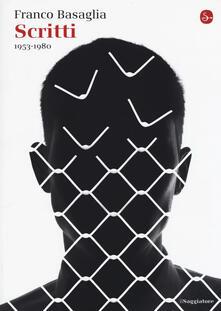 Scritti 1953-1980 - Franco Basaglia - copertina