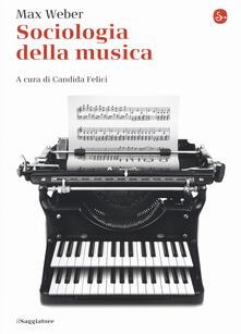 Sociologia della musica - Max Weber - copertina