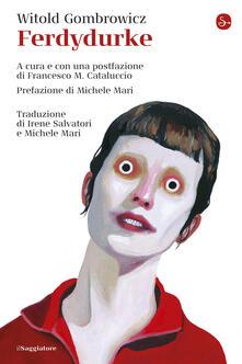 Ferdydurke - Witold Gombrowicz - copertina
