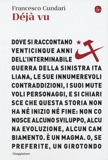 Déjà vu - Francesco Cundari - copertina