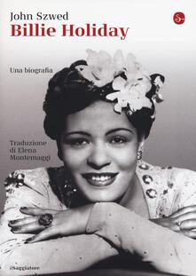 Billie Holiday - John F. Szwed - copertina