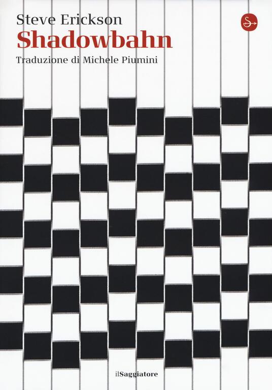 Shadowbahn - Steve Erickson - copertina